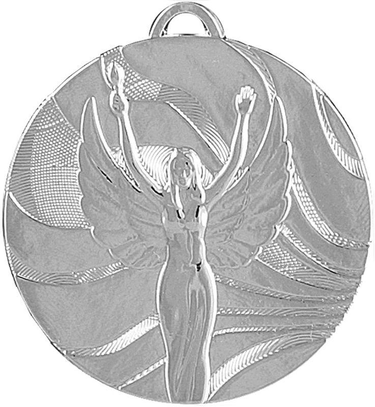 Медаль Ника, 2 место, диаметр 5 см. 337422337422Классическая медаль Ника предназначена за второе место для церемонии награждения. Ее можно использовать для награждения команды за спортивные достижения в разных дисциплинах. При любом мероприятии, победителю будет невообразимо приятно получить медаль, символ величия и победы. Диаметр: 5 см.