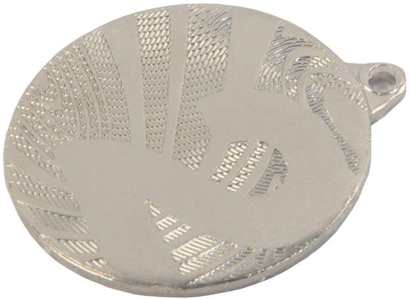 Медаль сувенирная За 2 место, цвет: серебряный, диаметр 4 см. MMC6040/ S2539210Подчеркните важность мероприятия, вручив победителю настоящую медаль За 2 место. Эксклюзивное изделие - достойная награда для любого повода. Металлическая медаль оформлена цифрой дваДиаметр медали: 4 см.