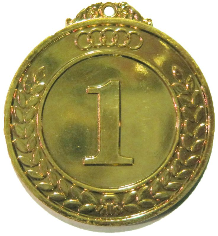 Медаль классическая Start Up, цвет: золото, диаметр 5 см 557t073nf232s d sub backshells 26 up start 5 wks aro mr li