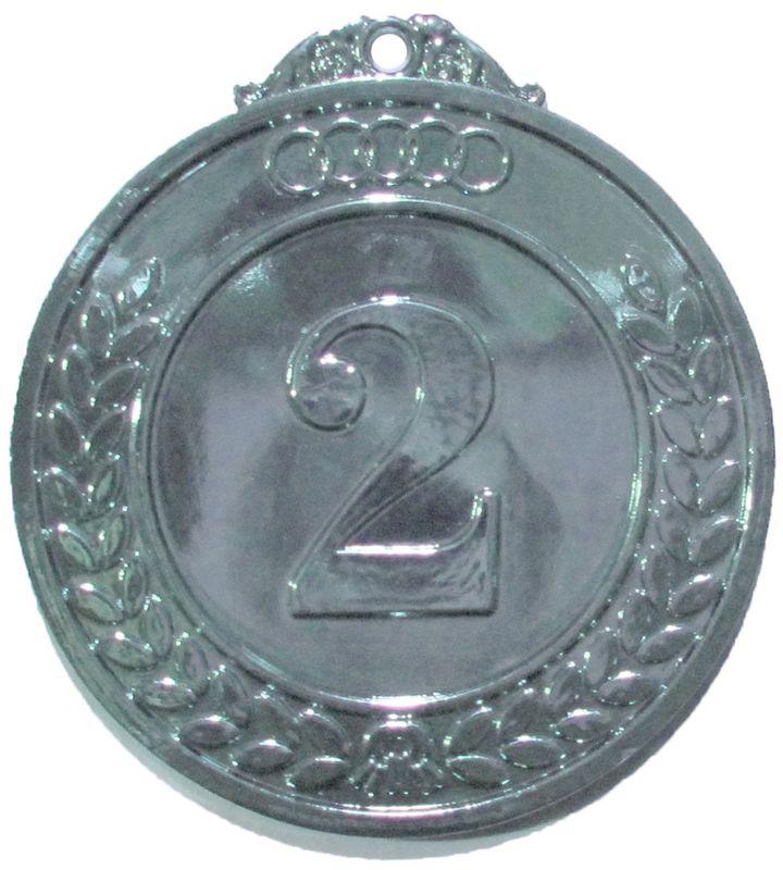 Медаль классическая Start Up, цвет: серебро, диаметр 5 см1040400Классическая медаль Start Up -медаль за второе место для церемонии награждения. Ее можно использовать для награждения команды за спортивные достижения в разных дисциплинах. При любом мероприятии, победителю будет невообразимо приятно получить медаль, символ величия и победы.Диаметр: 5 см.
