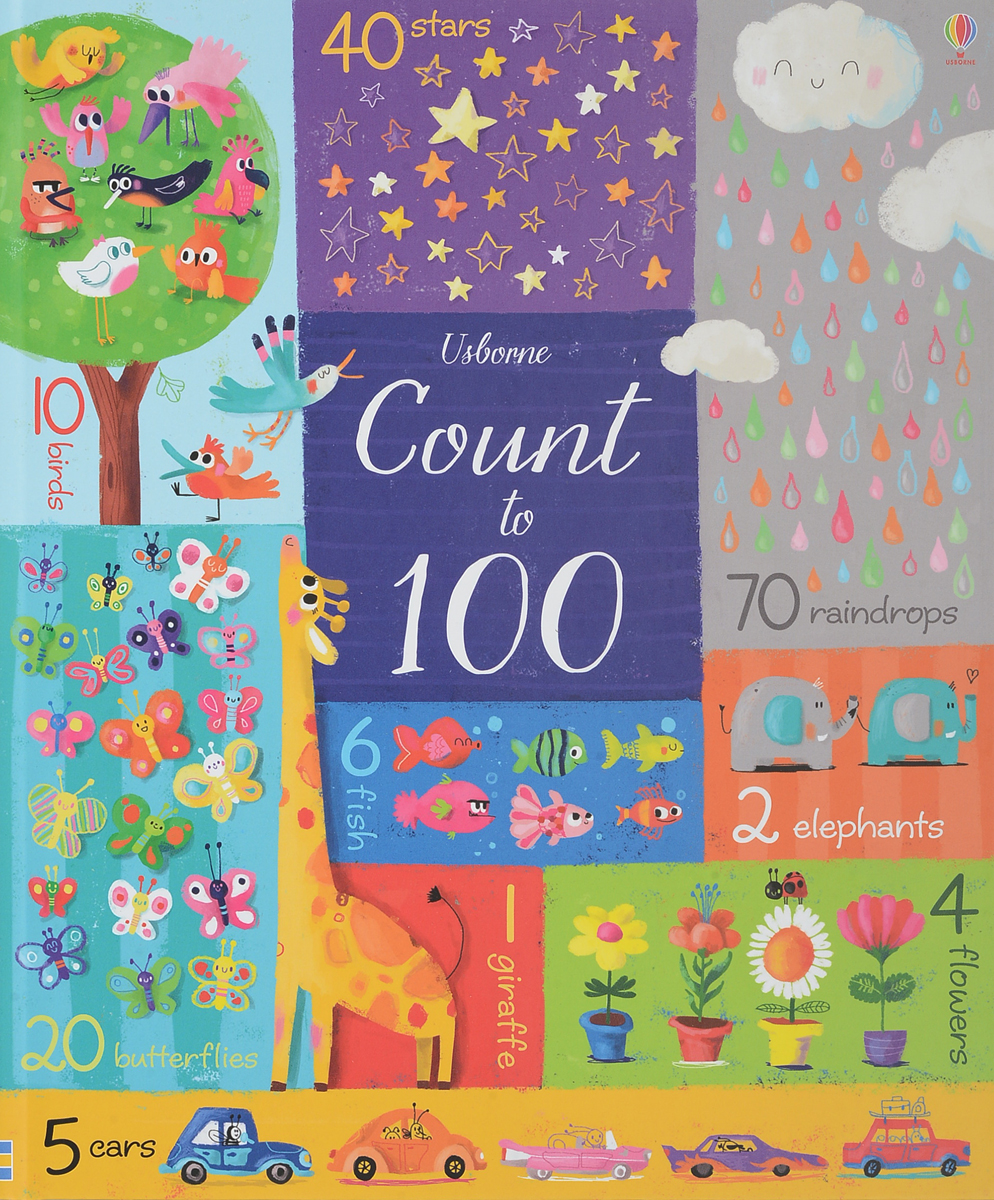 Count to 100 to reach the clouds page 5