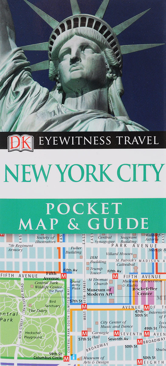 New York City: Pocket Map & Guide dk eyewitness top 10 travel guide scotland