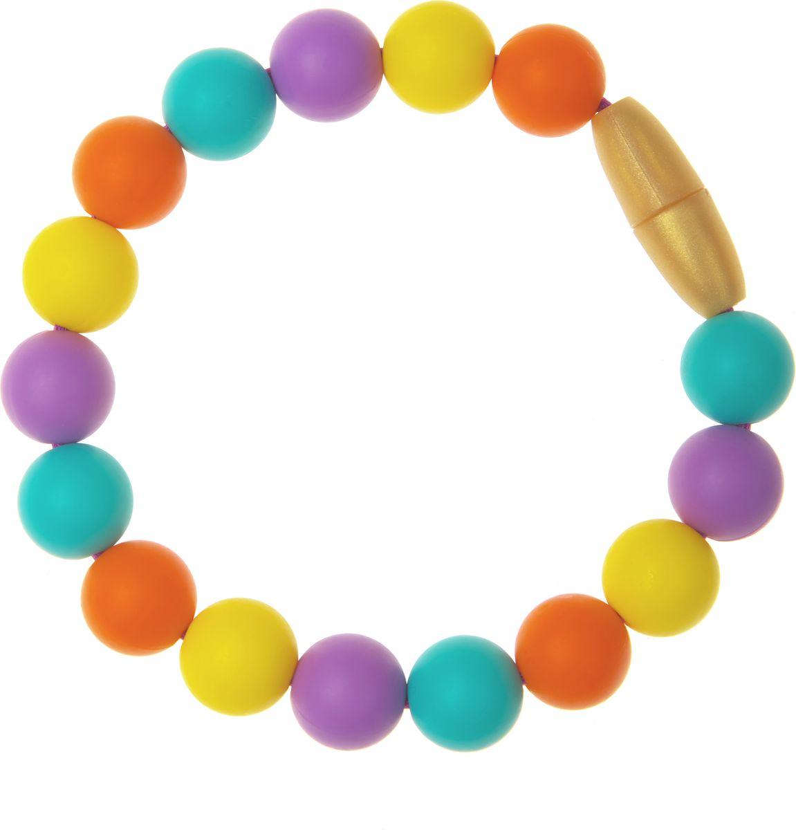 МАМидея Браслет-прорезыватель Майя цвет фиолетовый