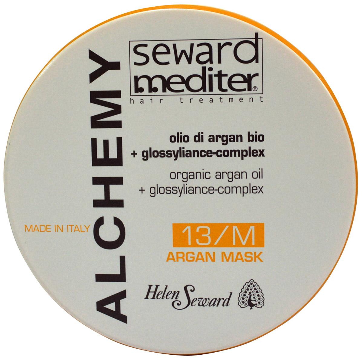 Helen Seward Alchemy Argan Mask 13/M Маска для всех типов волос с аргановым маслом, 250 мл1306Глубоко питает и увлажняет волосы, оказывая укрепляющее действие, делает волосы идеально гладкими. Обладает реструктурирующим действием, улучшая состояние волос за счет уплотнения и восстановления его структур. Придает интенсивный блеск и мягкость волосам, делая их легкорасчесываемыми. Снимает статическое электричество. Не утяжеляет волосы.