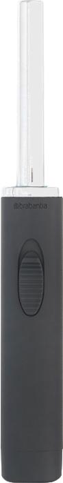 """Многофункциональная зажигалка Brabantia """"Tasty Colors"""" может использоваться на кухне для  приготовления пищи, а также отлично подходит для зажигания свечей, розжига  камина, прикуривания или разведения открытого огня. Изделие выполнено из металла и пластика.  К тому же это очень долговечное изделие: легко заправляется обычным газом для зажигалок.  Эргономичная конструкция – ручка с удобной кнопкой.  Повышенная  безопасность – двухпозиционный переключатель и регулировка пламени."""