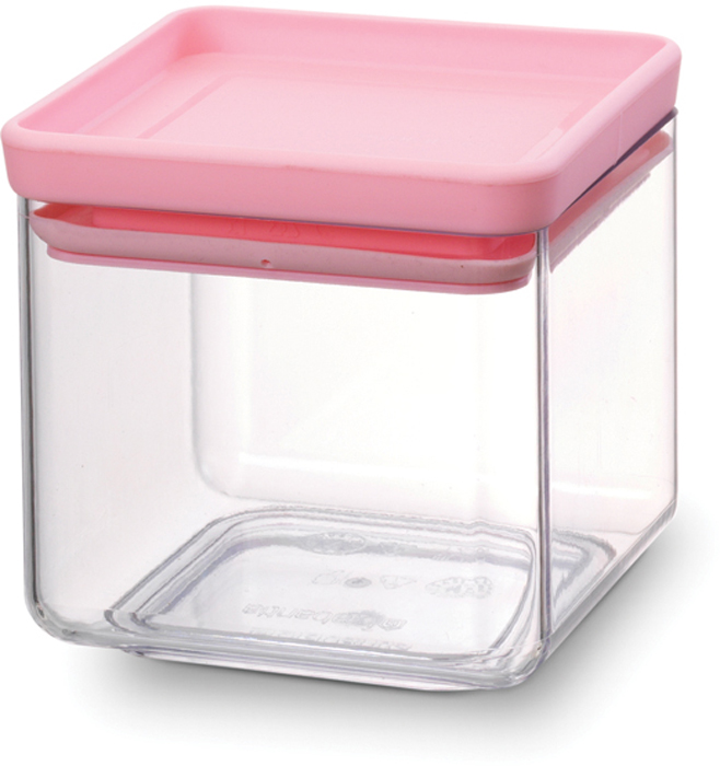 Контейнер пищевой Brabantia Tasty Colors, 700 мл. 290121290121Этот симпатичный контейнер для хранения сыпучих продуктов украсит интерьер любой кухни, сэкономив при этом достаточно места – прямоугольная форма и модульная конструкция позволяют составлять контейнеры один на другой. Практично и красиво.- Занимает мало места – контейнеры имеют прямоугольную форму и составляются один на другой.- Продукты надолго сохраняют свежесть и аромат – силиконовый уплотнитель.- Хорошо видно содержимое и его количество.- Легко моется – можно мыть в посудомоечной машине.- Прочный и абсолютно прозрачный – изготовлен из пластика. - Входит в коллекцию «Tasty Colours».