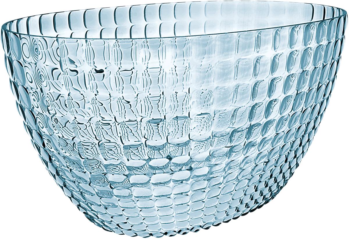 Ведерко для шампанского Guzzini Tiffany, цвет: голубой19930081Ведерко для шампанского - это общепризнанный символ праздника и один изглавных предметов сервировки на столе. Оно подчеркиваетторжественную атмосферу, привлекает взгляды гостей и украшает своимприсутствием любой вечер. Дизайн ведерка Tiffany отличаетсяоригинальной рельефной формой, которая в сочетании с прозрачнымматериалом заставляет поверхность сверкать и переливаться на свету. Изготовлено из высококачественного органического стекла, устойчивого кизносу и повреждениям. Ведерко представляет собой расширяющийся кверху овал и может вместитьсразу две бутылки белого вина. Прямой и ровный край гарантирует,что ведерко не треснет, если бутылка ударится о его стенку. Яркий,функциональный и привлекательный предмет для вечеринок с друзьями,семейных праздников и торжественных мероприятий.Не содержит вредных примесей и бисфенола-А.Моется вручную.