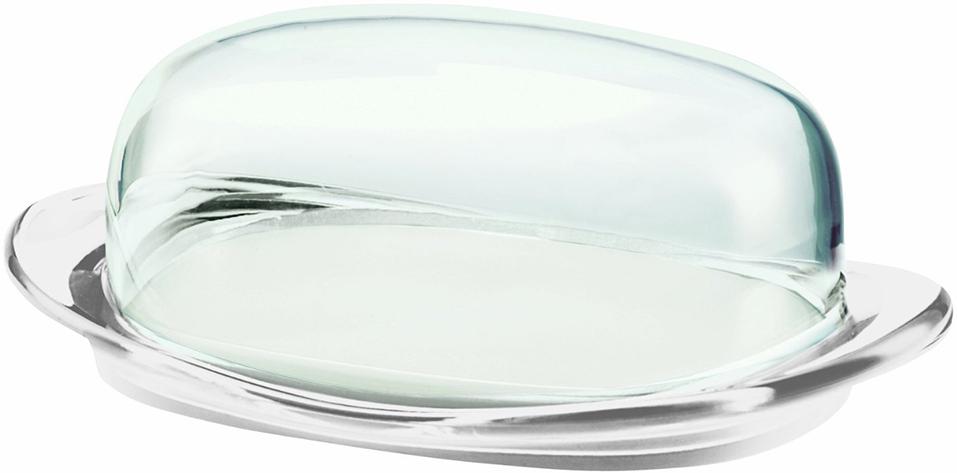 Масленка Guzzini Feeling, цвет: прозрачный22420000Элегантная масленка Feeling состоит из цветной тарелки и прозрачной крышки. Её размеры идеальны для хранения - она не займет много места на столе или в холодильнике.В закрытом положении крышка плотно прилегает к базе и не соскальзывает, что обеспечивает дополнительную безопасность при использовании.Отличное дополнение для городских и дачных завтраков. Можно мыть в посудомоечной машине.
