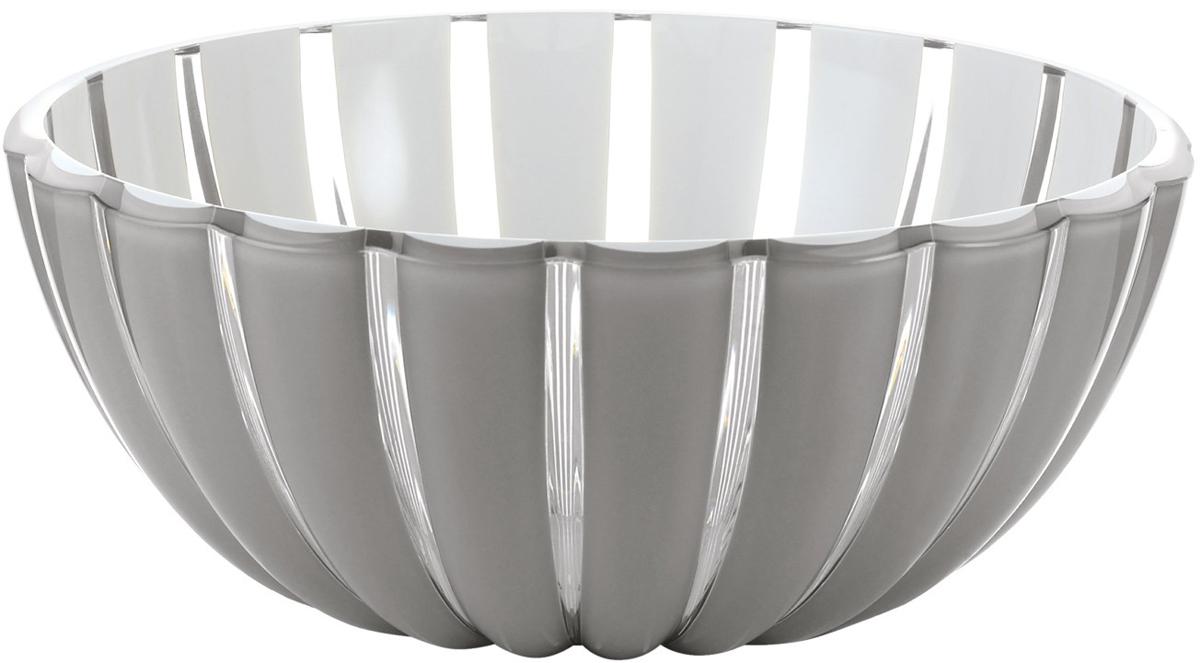 Салатник Guzzini Grace, цвет: серый, диаметр 30 см, 4,9 л29693092Салатник Guzzini Grace выглядит настолько изящно, что кажется, будто он сделан из стекла. Его главный секрет - необычная форма, в которой внешние объемные и волнообразные края контрастируют с белоснежной и гладкой внутренней поверхностью. Вместе они образуют уникальный рельефный эффект, который усиливается на свету.Вместительность салатника позволит использовать его для подачи фруктов, десертов, закусок и основных блюд.Можно мыть в посудомоечной машине.