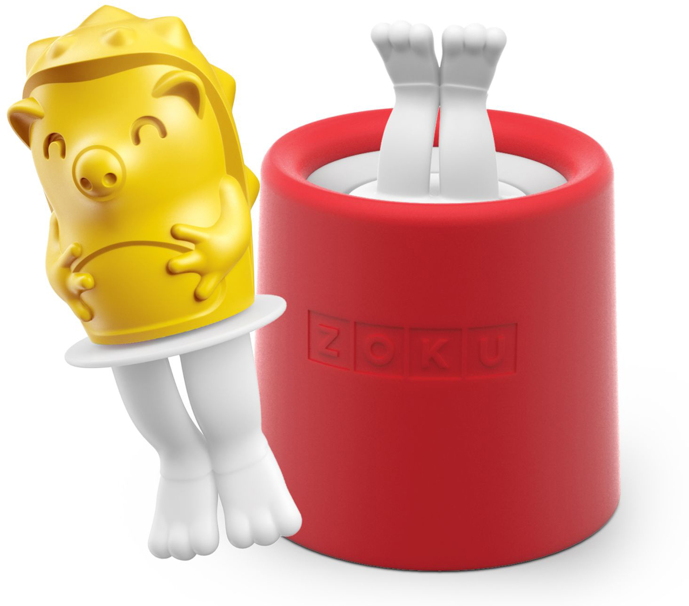 Форма для мороженого Zoku Hedgehog, 45 мл. ZK123-010ZK123-010Уникальная коллекция формочек для мороженого включает в себя 8 разных фигурок, с помощью которых вы сможете готовить вкусные и полезные домашние десерты. Теперь каждому члену семьи достанется свой персонаж, и не придется путаться в том, кому и какое лакомство принадлежит. Для приготовления мороженого залейте жидкость в форму до отметки и вставьте внутрь палочку. Оставьте в морозильной камере на восемь и более часов. Когда продукт готов, просто вытащите палочку и наслаждайтесь натуральным десертом собственного приготовления. Объем - 45 мл. Форма не содержит вредных примесей и бисфенола-А. Моется вручную.