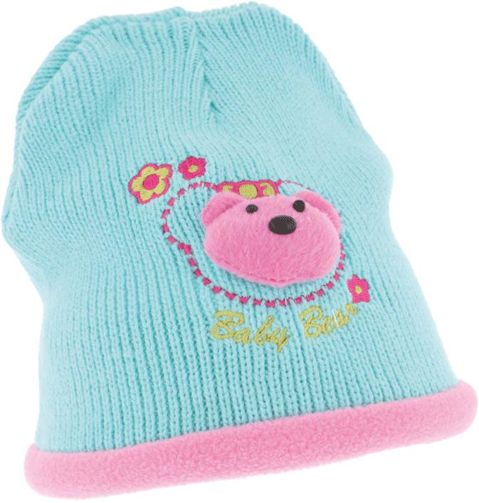 Шапка детская Ignite, цвет: голубой. 302589. Размер 46/48302589Очень уютная детская шапка Ignite выполнена из акриловой пряжи, она невероятно мягкая и приятная на ощупь. Шапка оформлена яркой аппликацией.