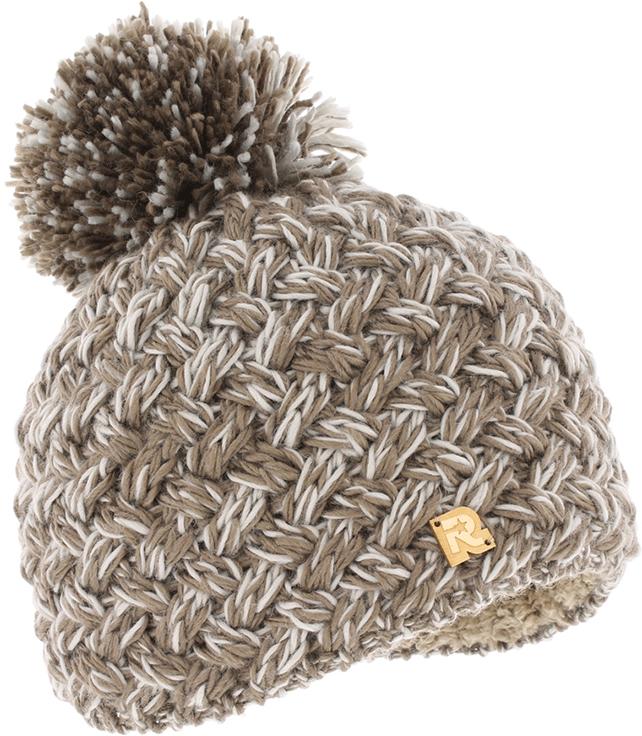 Шапка женская R.Mountain, цвет: светло-коричневый. ICE 8511. Размер 54/61ICE 8511Тёплая вязаная шапка R.Mountain с помпоном идеальна для зимних холодов. Шапка внутри имеет плюшевую подкладку для самой комфортной посадки на голову и удобной носки. Мягкий цвет, а также фасон шапки придает образу своей обладательницы необычайную нежность и женственность, а приятный на ощупь материал дарит ощущение тепла и комфорта. Сочетать этот головной убор можно с любыми цветами гардероба.