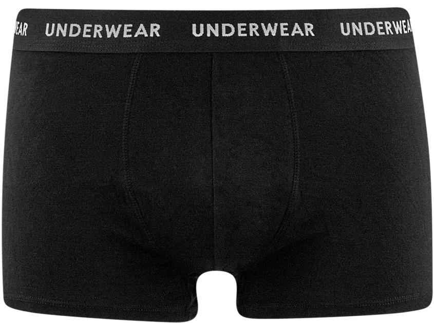 Трусы-боксеры мужские oodji Basic, цвет: черный. 7B111001M/44218N/2900N. Размер XL (56)