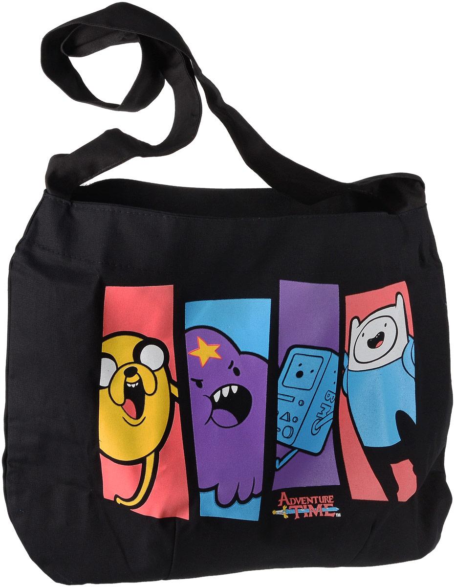 Сумка-почтальон Adventure Time Вселенная друзей9785699998333Сумка-почтальон Adventure Time Вселенная друзей понравится вам с первого взгляда. Изделие выполнено из текстиля и оформлено оригинальным принтом. Сумка имеет наплечный ремень. Внутри расположено главное вместительное отделение, которое содержит накладной карман для мелочей.