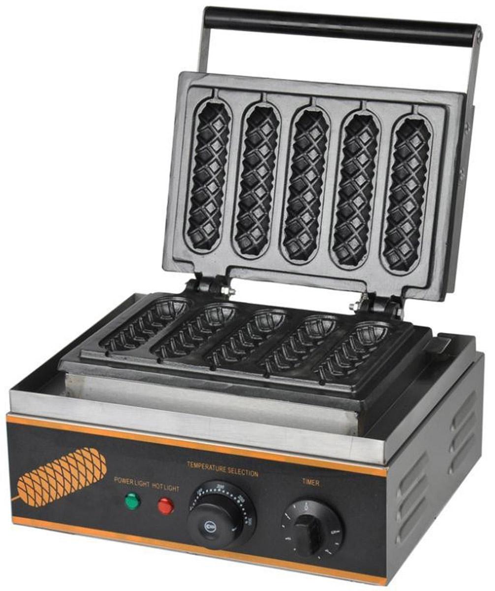 GASTRORAG ZU-EG-5BE, Black вафельница - Блинницы и вафельницы