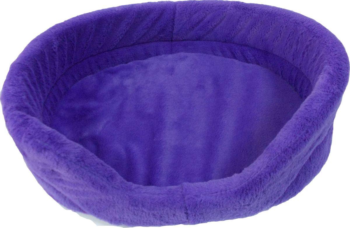 Лежак для животных Заря-Плюс Лаванда, цвет: фиолетовый, 39 х 25 х 11 смЛО1млОчень уютная и мягкая лежанка для кошек и собак выполнена из высококачественного меха. В комплект с лежанкой входит съемная подушка. Внутри подушки находится поролон, благодаря чему лежанка отлично держит форму. При необходимости лежанку с подушкой можно стирать при t-30градусов. Это очень уютное спальное место непременно понравится Вашему любимцу. Размеры лежанки: длина - 36 см, ширина - 24 см, высота бортика - 12 см.