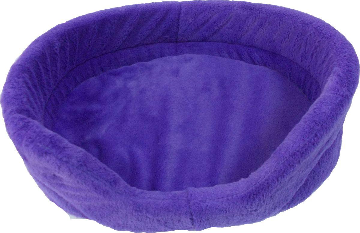 Лежак для животных Заря-Плюс Лаванда, цвет: фиолетовый, 48 х 34 х 15 смЛО2млЛежак для животных Заря-Плюс Лаванда изготовлен из высококачественной бязи с наполнением из поролона и выполнен в ярком цвете. В комплект с лежаком входит съемная подстилка. Благодаря наполнению из поролона, лежак отлично держит форму. При необходимости лежанку с подушкой можно стирать при t-30градусов. Это очень уютное спальное место непременно понравится вашему любимцу.Размеры лежанки: длина - 48 см, ширина - 34 см, высота бортика - 15 см.