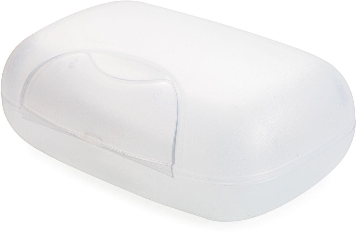 Мыльница Berossi Voyage, цвет: прозрачный, 12 х 8 х 4,5 смАС 21700000Практичная мыльница Voyage - это не только предмет обихода, но и незаменимый спутник в различных поездках. Матовый пластик с легкой шероховатостью не скользит в руках, а прочно закрывающаяся крышка надежно сохраняет мыло внутри.