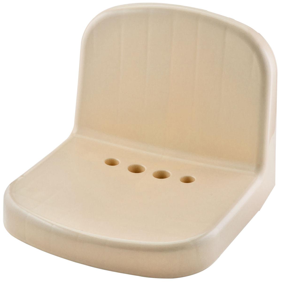 """Сидение """"Molly"""" Berossi из высококачественного пластика. Подходит для использования в помещениях повышенной влажности, в бане, у бассейна, на балконе или в ванной комнате. Этот аксессуар способен повысить уровень комфорта во много раз. В душевой он будет необходим людям преклонного возраста или с ограниченными возможностями. Оценят его и женщины, ведь делать маникюр или педикюр, сидя на таком стульчике, намного удобнее. Среди прочих достоинств: отверстия округлой формы в основании сиденья для оттока воды; пластик, из которого выполнено изделие, моментально прогревается, быстро высыхает и не ржавеет от воздействия влаги; специальная обработка поверхности сиденья предотвращает скольжение на нем даже при значительном уровне влажности; спинка позволяет избежать контакта с холодной стеной и комфортом расслабиться, давая отдых спине; монолитная конструкция с отсутствием стыков упрощает уход за изделием, которое легко моется стандартными моющими средствами. Сиденье Molly, выполненное из высококачественного пластика, выдерживает нагрузку до 120 кг. В комплект входит инструкция на этикетке и все необходимые шурупы и дюбели для надежной фиксации изделия к стене. Легко монтируется."""