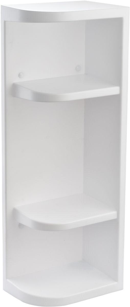 Полка для ванной комнаты Berossi Hilton Universal, угловая, цвет: белый, 13 х 19,4 х 55 смАС 33001000Полка угловая Hilton Universal изготовлена из высококачественного пластика.Не теряет внешний вид от воздействия пара и высоких температур. Не разбухает от контакта с водой. Устойчива к прямому попаданию моющих жидкостей и прочих средств бытовой химии. Разные габариты секций (22,4 см и 2 х 13 см) позволяют разместить на полках предметы любой высоты. Возможно как вертикальное, под любой угол помещения, так и горизонтальное размещение. Четыре сквозных отверстия для навешивания гарантируют надежное крепление к стене даже полностью загруженной полки. Крепеж входит в комплект.