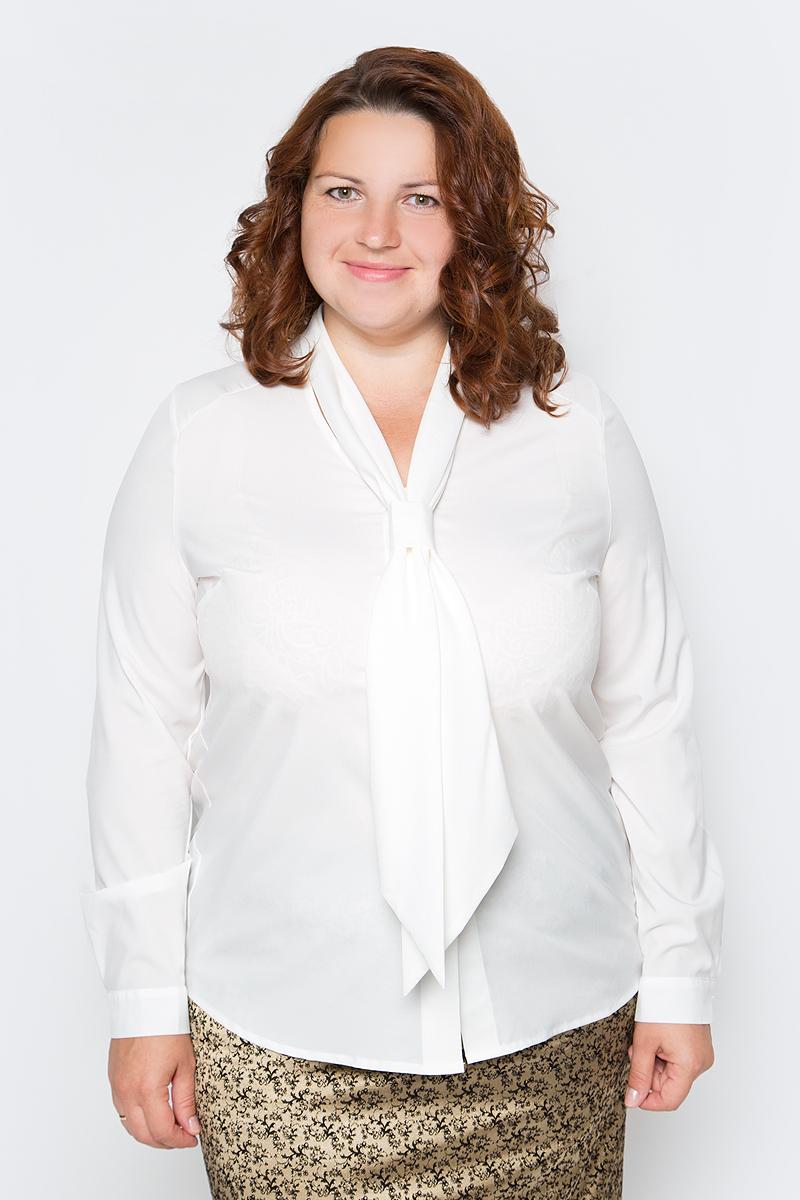 Блузка женская Milanika, цвет: молочный. 50132. Размер 52