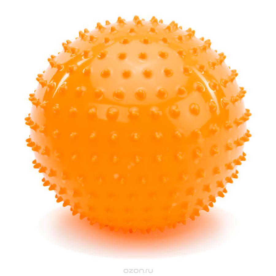 PicnMix Массажно-игровой мяч Геймбол 18 см цвет оранжевый