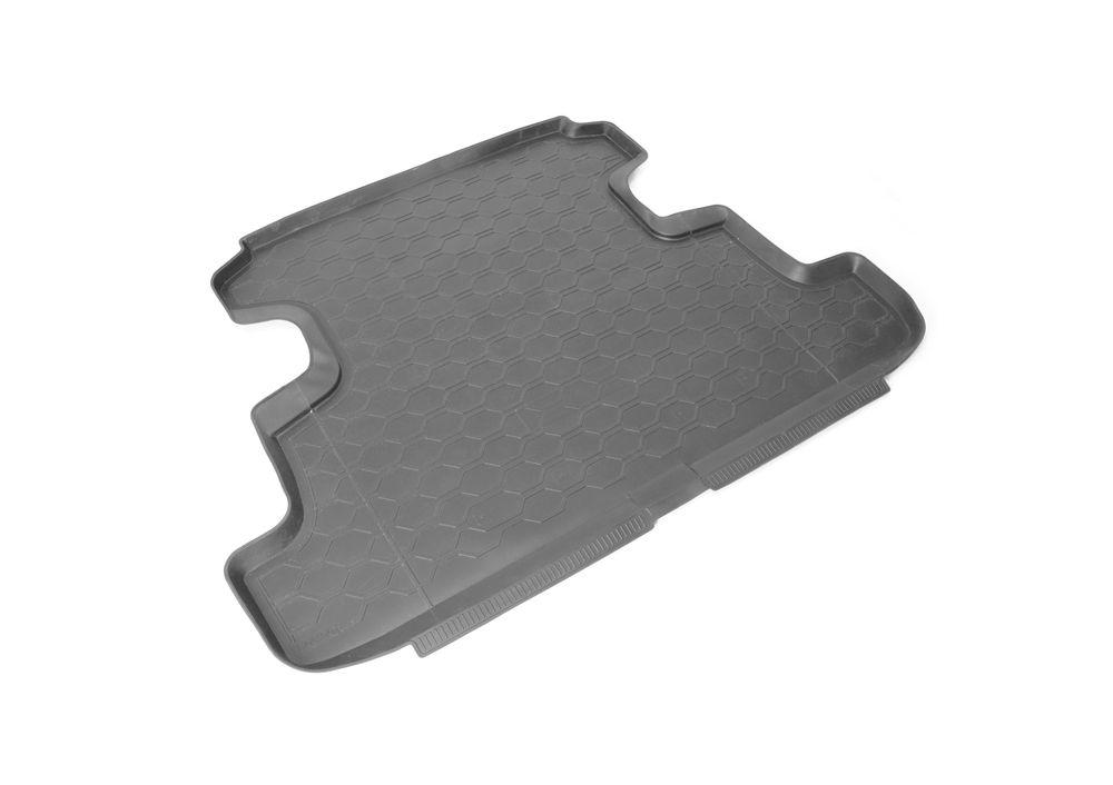 Коврик багажника Rival, для Lada 4x4 (5D) 2009-16005002Коврик багажника Rival позволяет надежно защитить и сохранить от грязи багажный отсек вашего автомобиля на протяжении всего срока эксплуатации, полностью повторяют геометрию багажника. - Высокий борт специальной конструкции препятствует попаданию разлившейся жидкости и грязи на внутреннюю отделку. - Произведены из первичных материалов, в результате чего отсутствует неприятный запах в салоне автомобиля. - Рисунок обеспечивает противоскользящую поверхность, благодаря которой перевозимые предметы не перекатываются в багажном отделении, а остаются на своих местах. - Высокая эластичность, можно беспрепятственно эксплуатировать при температуре от -45°С до +45°С.- Изготовлены из высококачественного и экологичного материала, не подверженного воздействию кислот, щелочей и нефтепродуктов. Уважаемые клиенты! Обращаем ваше внимание, что коврик имеет форму, соответствующую модели данного автомобиля. Фото служит для визуального восприятия товара.