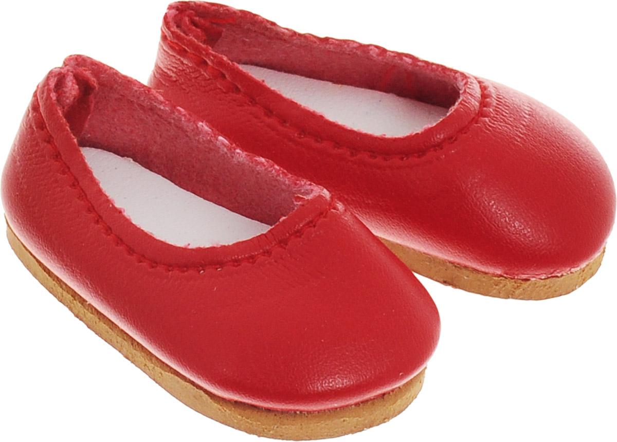Vestida de Azul Туфли для куклы Карлотты цвет красный