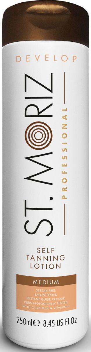 St. Moriz Professional Лосьон тонирующий Автобронзант, светлый оттенок, 250 мл50169Автобронзант нового поколения для достижения идеального и естественного бронзового оттенка кожи. Не оставляет разводов и полос на коже. Не оставляет запаха и оранжевых пятен! Моментально впитывается и быстро высыхает на коже. Содержит коричневую смываемую тонировку. Для нормальной кожи. Подходит для лица и тела. Содержит Оливковое молочко и Витамин Е. Не содержит парабены