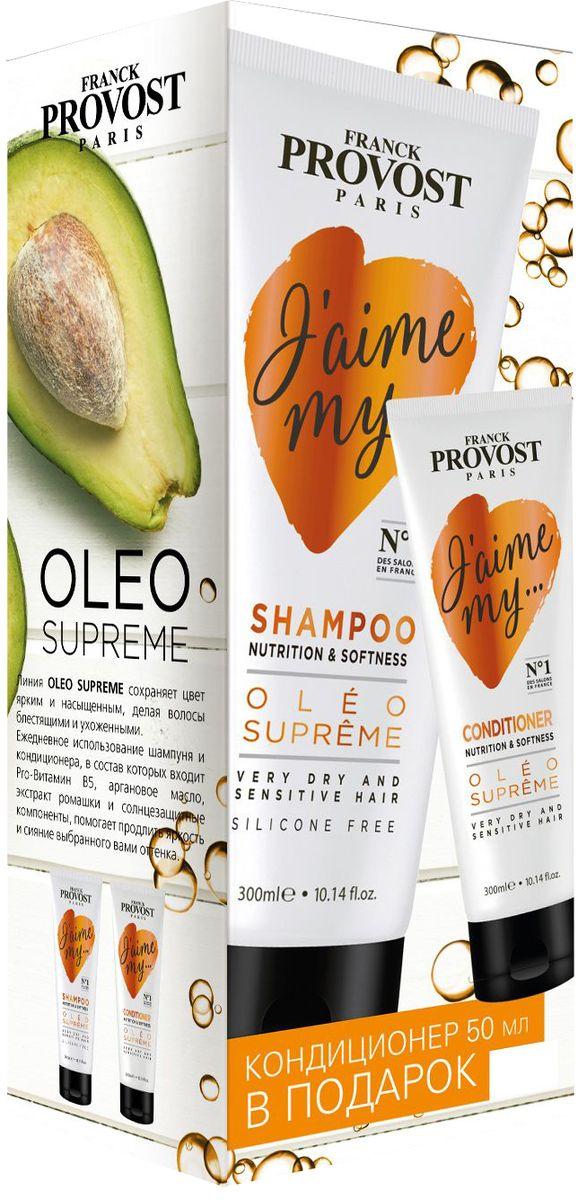 """Фото Franck Provost Набор """"Oleo Supreme"""", для питания и придания мягкости волосам, 350 мл"""