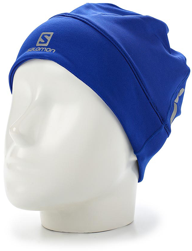 Шапка Salomon Active Beanie, цвет: синий. L39491900. Размер универсальный