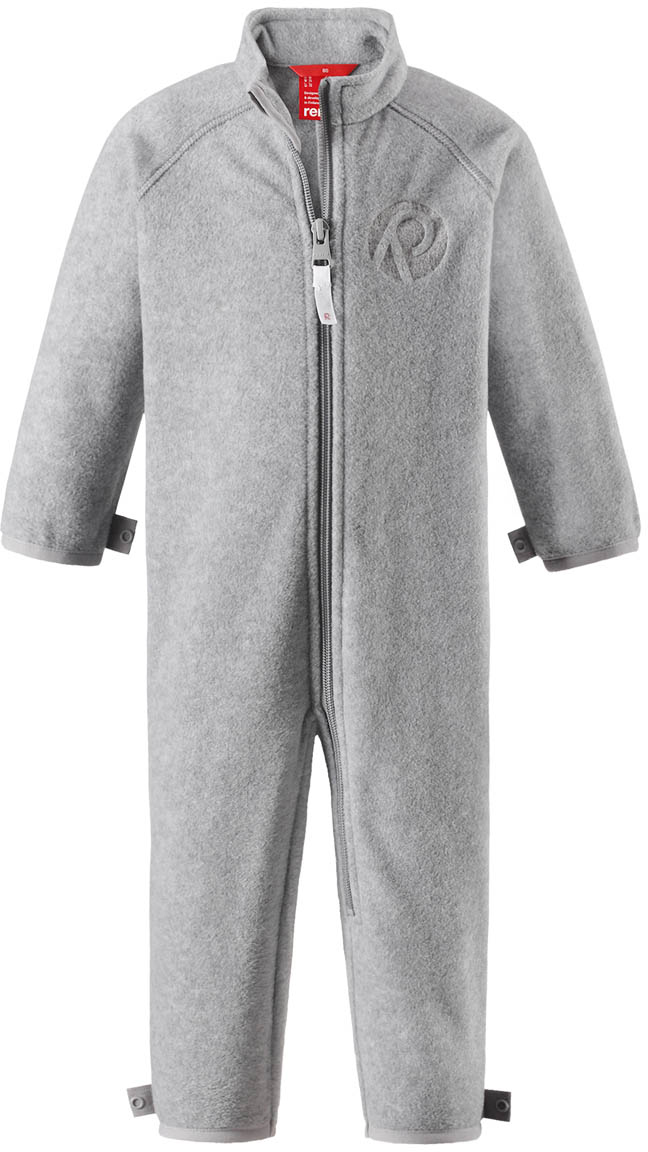 Комбинезон утепленный флисовый детский Reima Ester, цвет: серый. 5163159400. Размер 80