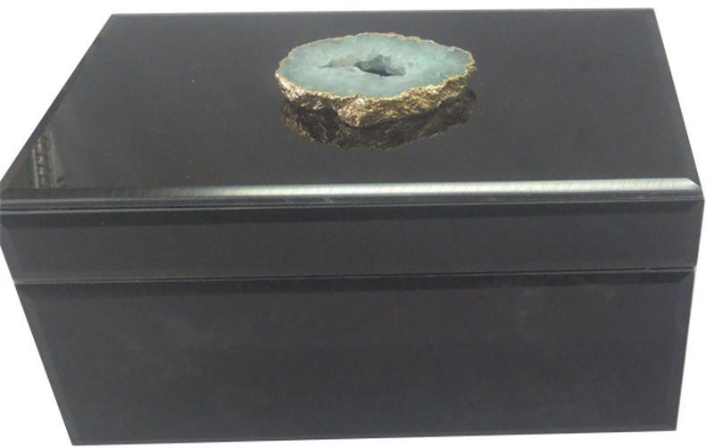 Шкатулка декоративная Magic Home Жемчужный агат, 19,5 х 11 х 10 см magic home декоративная шкатулка из мдф белая яхта