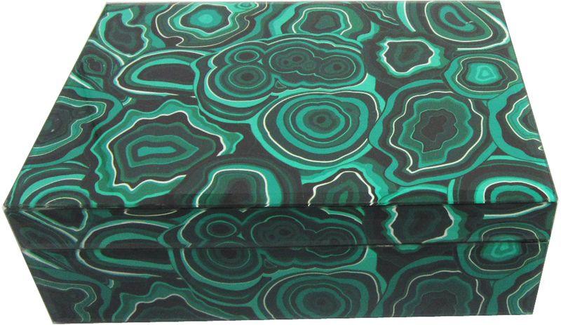 Шкатулка декоративная Magic Home Малахит, 21 х 13 х 8,5 см шкатулки magic home шкатулка дождь в париже