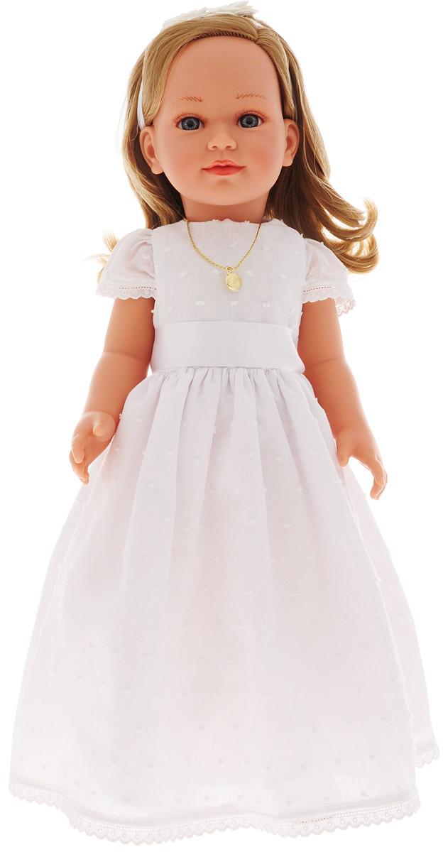 Vestida de Azul Кукла Корал блондинка Первое причастие vestida de azul пупс кина