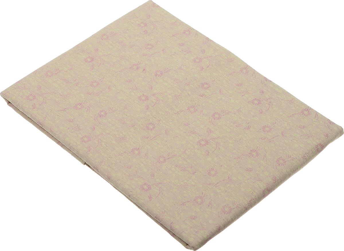 Скатерть Гаврилов-Ямский Лен, прямоугольная, цвет: бежевый, розовый, 150 x 180 см. 1со3208-2 скатерть гаврилов ямский лен прямоугольная цвет бирюзовый 140 х 180 см