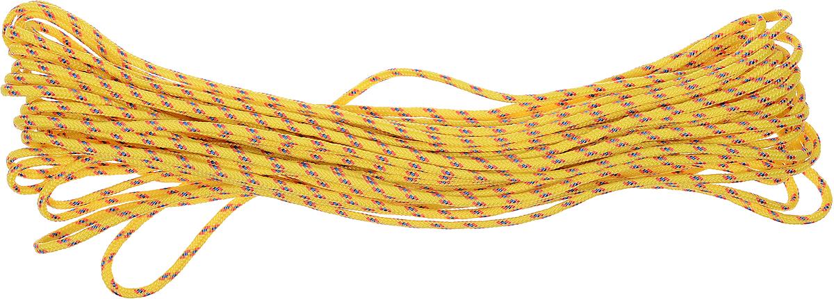 Шнур высокопрочный, толщина 2 мм, длина 10 м2259278Шнур высокопрочный выполнен из полипропилена. Шнур отличается качеством, прочностью и долговечностью. Широко используется в хозяйственных целях, в строительстве и рыболовстве. Разрывная нагрузка: 65 кгс. Толщина: 2 мм. Длина: 10 м.