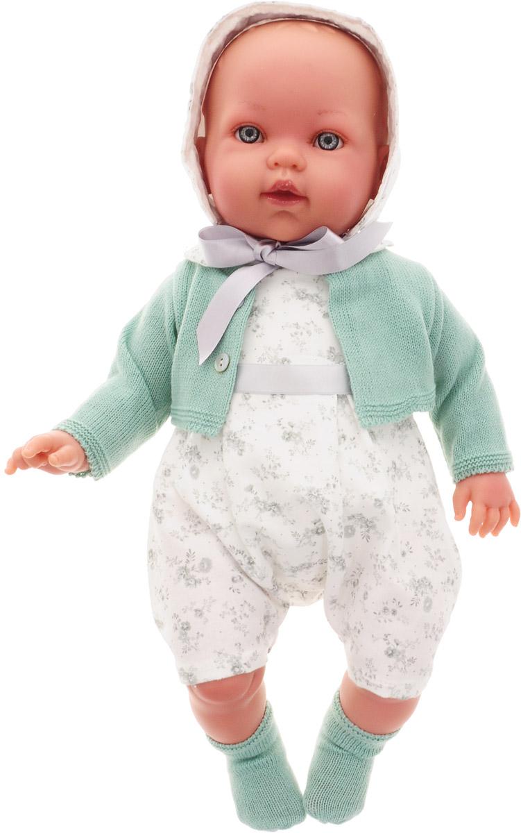 Vestida de Azul Пупс Тонино Инфант цвет одежды белый серо-зеленый куклы и одежда для кукол vestida de azul оливия в розовом костюме 30 см
