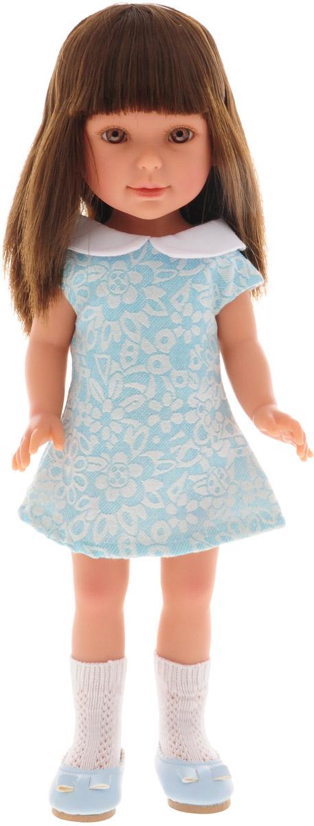 Vestida de Azul Кукла Паулина брюнетка с челкой Лето Оксфорд
