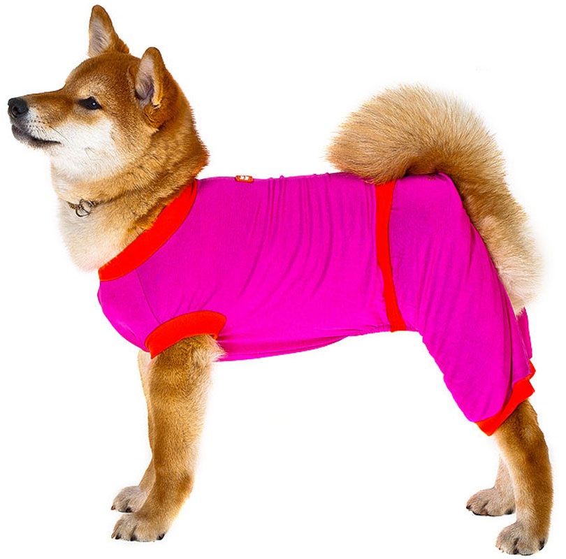 Комбинезон для собак Happy Puppy Летний, унисекс, цвет: розовый. Размер 4 (XL)HP-170050-4Комбинезон для собак Happy Puppy Летний выполнен из хлопка, поэтому собачке в нем будет комфортно. Модель без рукавов не сковывает движений, а стяжка обеспечивает комфортную посадку. Одежда для собак: нужна ли она и как её выбрать. Статья OZON Гид