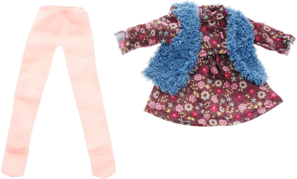 Vestida de Azul Комплект одежды для куклы Карлотты Весна Кантри vestida de azul кукла карлотта лето морской стиль