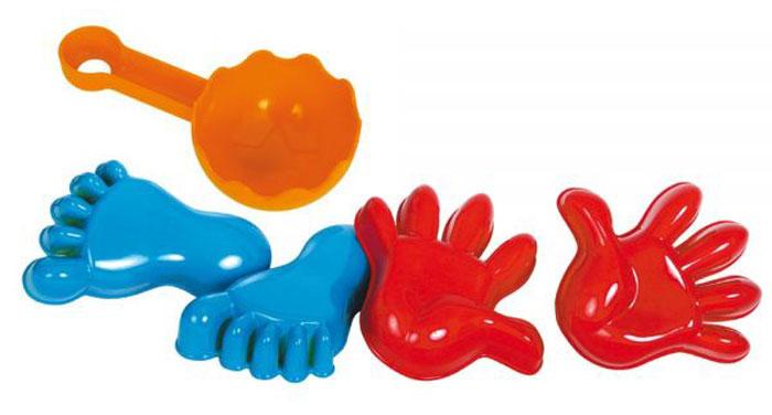 Gowi Набор игрушек для песочницы Ручки и ножки 5 предметов