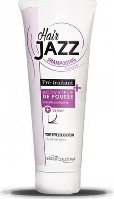 HairJAZZ Шампунь для роста волос, 250 млS250Средства HairJAZZ - это косметические средства для роста волос. Изготовлены во Франции. Не являются лекарственными средствами и не содержат гормонов. Натуральные активные компоненты формулы средств HairJAZZ, такие как соевый белок, экстракт яичной скорлупы, кератин, витамин B6, восстанавливая здоровье кожи головы и питая фолликулы, стимулируют рост волос. Факт ускорения роста волос при комплексном применении средств HairJAZZ подтвержден клиническими испытаниями.