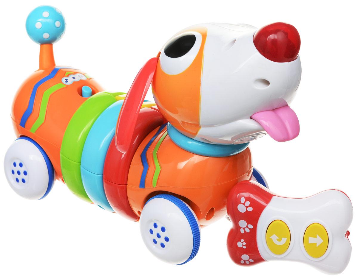 Win Fat Радиоуправляемая игрушка Радужный щенок - Радиоуправляемые игрушки