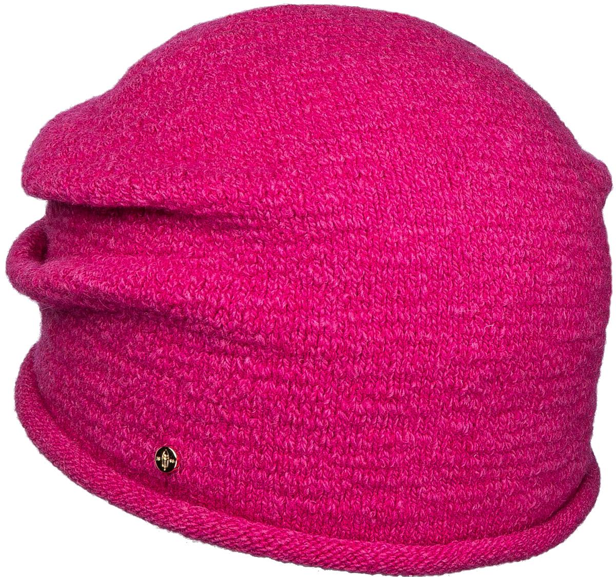 Шапка женская Canoe Skys, цвет: фуксия. 3447498. Размер 56/583447498Удлинённая шапочка с элегантным валиком. Связана из 100% итальянской шерсти с добавлением эластана, что делает изделие ветронепроницаемым, теплым, комфортным и обеспечивает хорошую посадку на голове.Уважаемые клиенты!Размер, доступный для заказа, является обхватом головы.