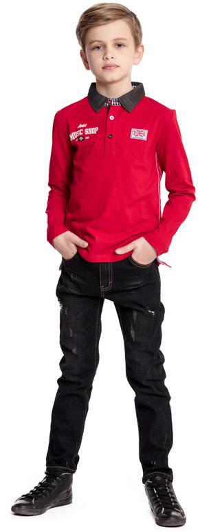 Поло для мальчика Scool, цвет: красный. 373021. Размер 158373021Футболка-поло Scool классического кроя прекрасно подойдет для повседневного гардероба ребенка. Небольшие яркие аппликации отлично дополняют модель. Мягкий материал приятен к телу и не вызывает раздражений. Свободный крой не сковывает движений. Лекало модели полностью совпадают с лекалом футболки-поло для взрослого мужчины.
