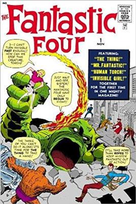 The Fantastic Four Omnibus Volume 1 (New Printing) nexus omnibus volume 4