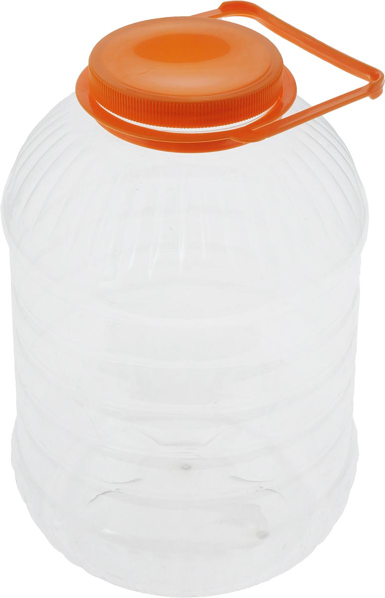 Банка Альтернатива, со съемной ручкой, цвет: оранжевый, 10 лM3055_оранжевыйБанка Альтернатива предназначена для хранения сыпучих продуктов или жидкостей. Выполнена из высококачественного пластика. Оснащена съемной ручкой для удобной переноски.Банка Альтернатива станет незаменимым помощником на вашей кухне. Объем: 10 л.