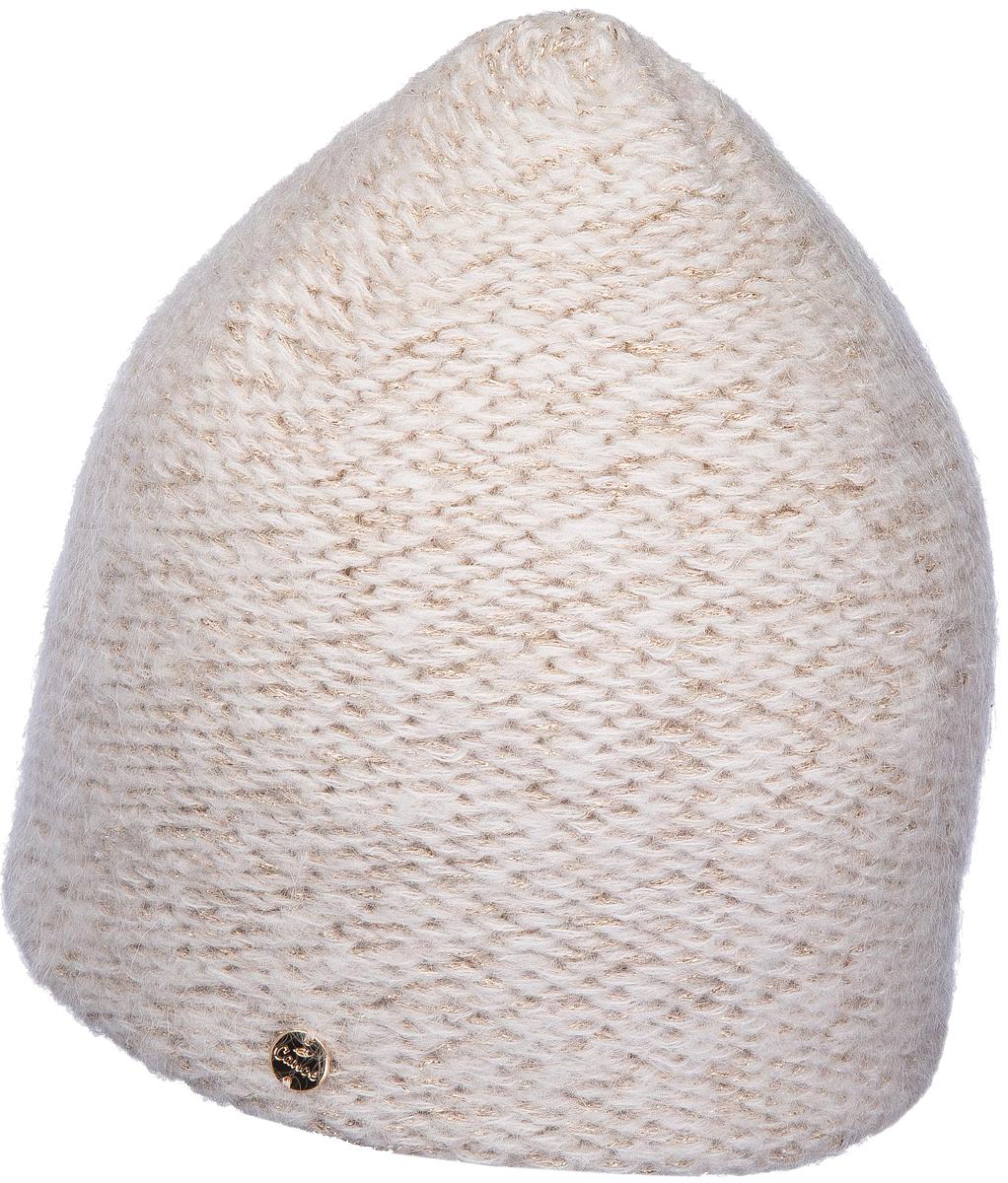 Шапка женская Canoe Windsy, цвет: белый. 4713400. Размер 56/584713400Тёплая удлинённая двухслойная шапочка из мулинированной смеси объёмного пакистанского мохера, итальянской вискозы, австралийской шерсти и укрепляющего полиамида создаст невероятный комфорт и великолепную посадку. Вискоза в сочетании с тёплым мохером делает шапку удивительно нежной, пушистой и приятной на ощупь. Полиамид скрепляет структуру и увеличивает износостойкость изделия. Пряжа украшена тонкими ниточками неаполитанского люрекса.Уважаемые клиенты!Размер, доступный для заказа, является обхватом головы.