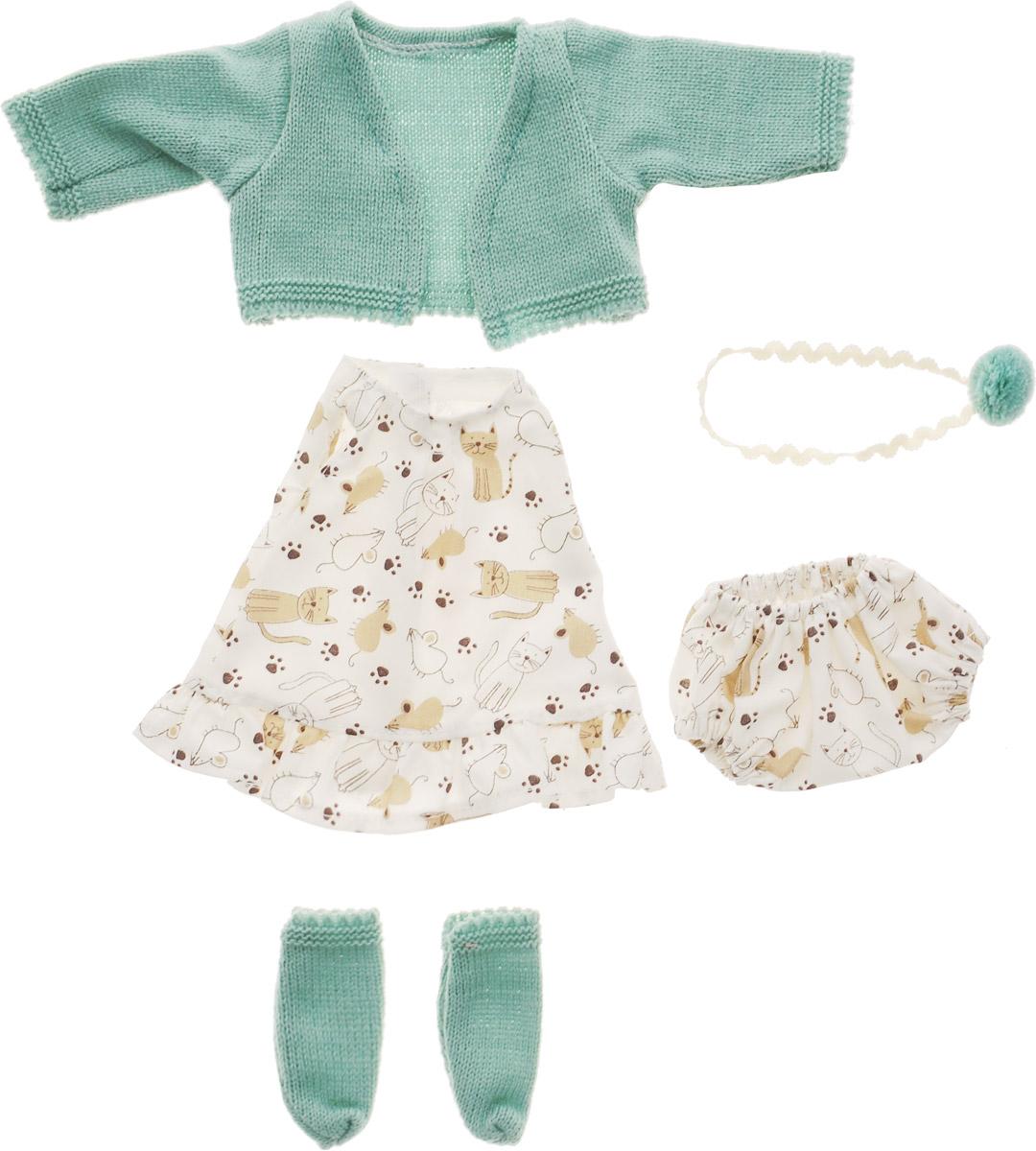 Vestida de Azul Комплект одежды для пупса Оливии C-2110 vestida de azul кукла карлотта лето морской стиль
